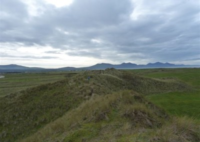 Dunes and view to LLyn penninsular
