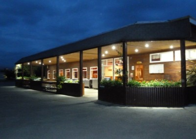 Clubhouse by night