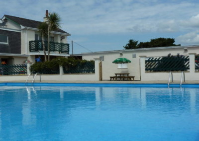Swimming Pool Morfa Lodge