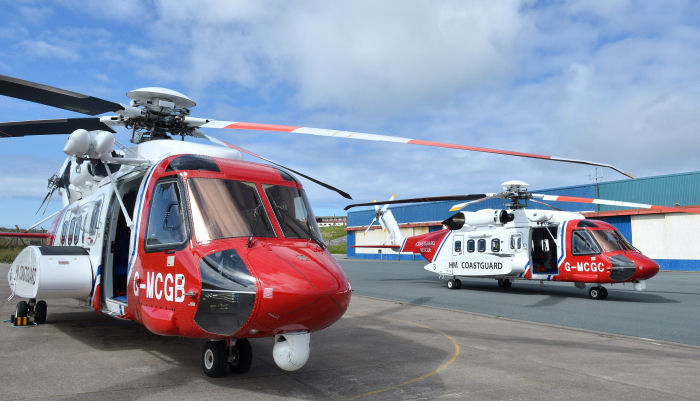 sikorsky caernarfon search and rescue